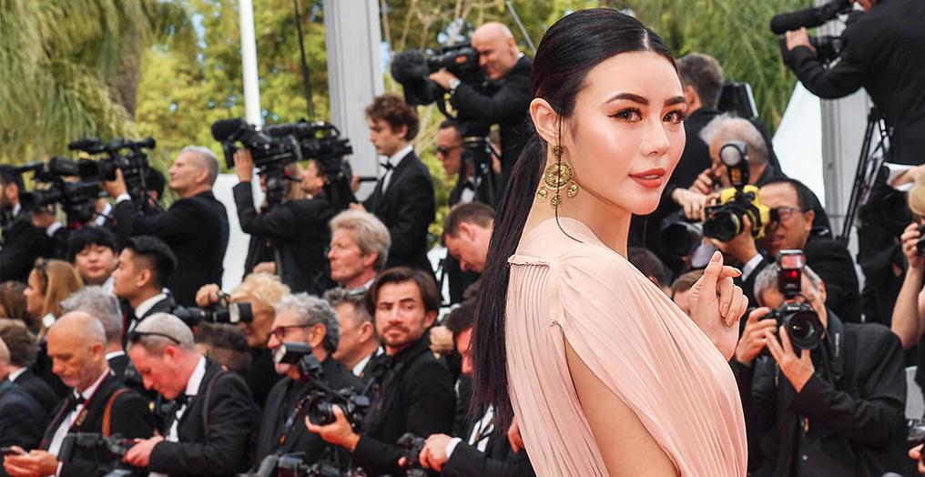 新生代时尚icon亮相戛纳电影节 吕茜穿Dior2019春夏系列参加开幕式
